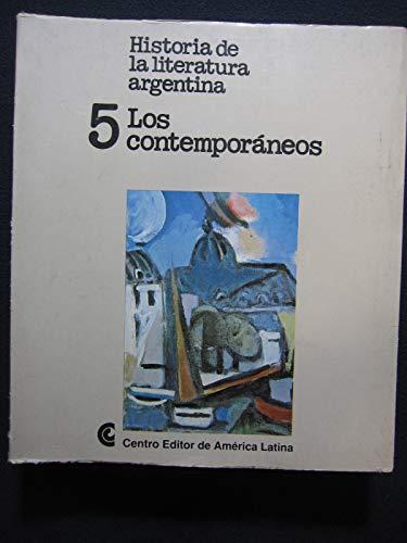 HISTORIA DE LA LITERATURA ARGENTINA. (4 tomos).: Varios