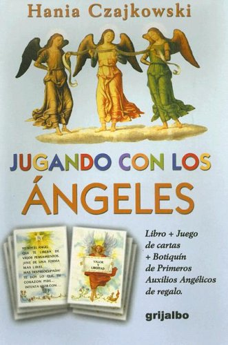 9789502803074: Jugando con los angeleslibro + cartas + botiquin de primeros auxilios angelicos
