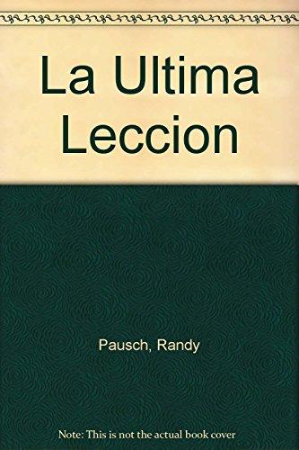 9789502804576: La Ultima Leccion