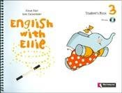 9789504619116: ENGLISH WITH ELLIE 3 - STUDENTS BOOK + CUT OUTS + CD (Spanish Edition)