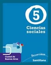 CIENCIAS SOCIALES 5 CABA - SERIE RECORRIDOS: Specified, Not