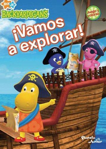 9789504915638: Vamos a Explorar - Los Backyardigans (Spanish Edition)