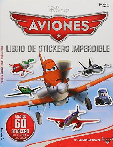 Aviones. Libro de sticker: Disney