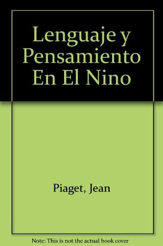 9789505000708: Lenguaje y Pensamiento En El Nino (Spanish Edition)