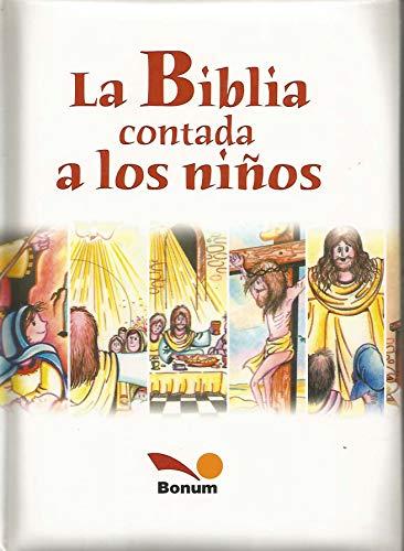 9789505075942: La biblia contada a los ninos / The Bible Told to Children (Spanish Edition)