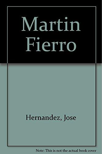 9789505155835: Martin Fierro (Spanish Edition)