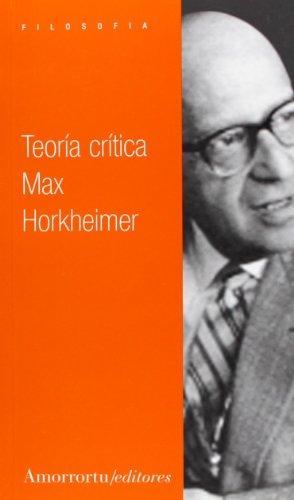 Teoria critica.: Horkheimer, Max