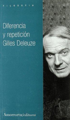 9789505183616: Diferencia y repetición (Filosofía)