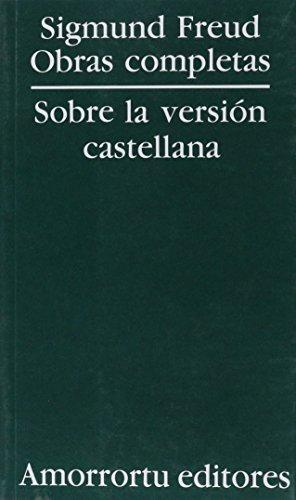 9789505185757: Obras Completas - Freud 25 Tomos (Spanish Edition)