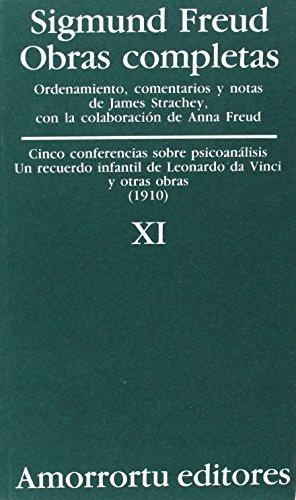 Obras Completas - Tomo XI Cinco Conferencias: Sigmund Freud