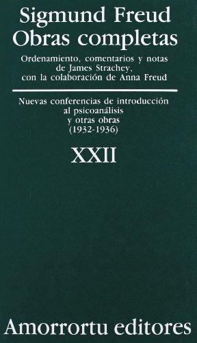 9789505185986: Obras Completas - Tomo XXII Nuevas Conferencias de Introduccion Al Psicoanalisis (Spanish Edition)
