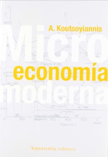 MICROECONOMIA MODERNA: A. KOUTSOYIANNIS