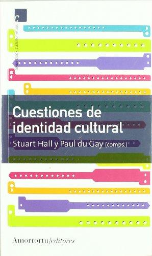 9789505186631: Cuestiones de identidad cultural (Comunicación, cultura y medios)