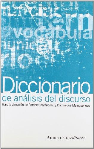 9789505189021: Diccionario de Analisis del Discurso (Spanish Edition)