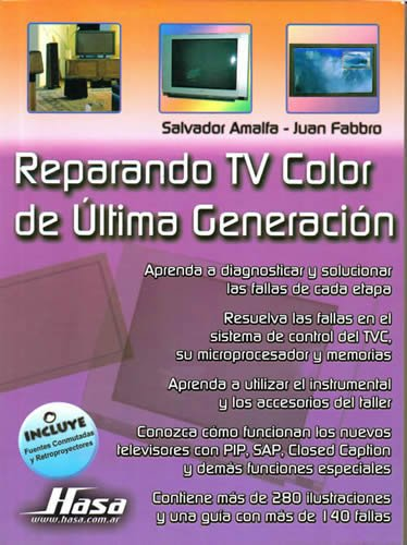 9789505282272: Reparando TV de ultima generacion/ Latest Generation TV Repair (Spanish Edition)