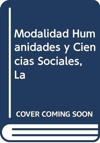 9789505290932: Modalidad Humanidades y Ciencias Sociales, La