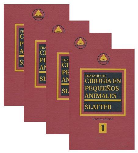 9789505553037: Tratado de cirugia en pequeños animales- 4 tomos