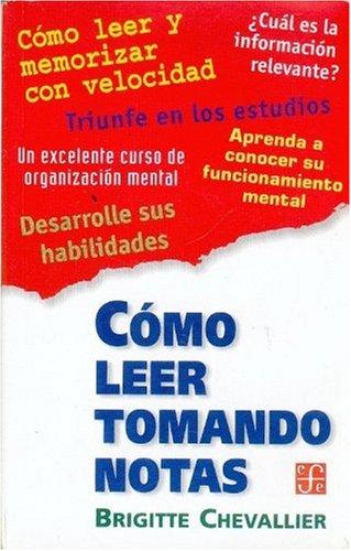 9789505572717: Cómo leer tomando notas (Spanish Edition)
