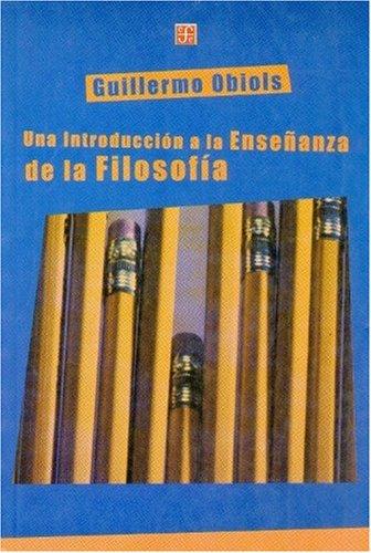 9789505575022: Una Introduccion a la Ensenanza de La Filosofia