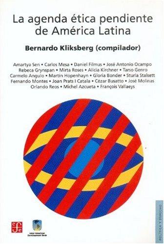 9789505576500: La agenda ética pendiente de América Latina (Spanish Edition)