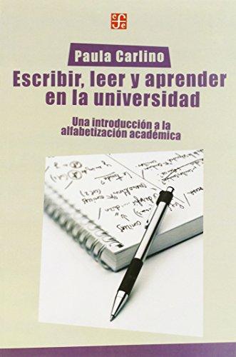 9789505576531: Escribir, leer y aprender en la universidad. Una introducción a la alfabetización académica (Spanish Edition)