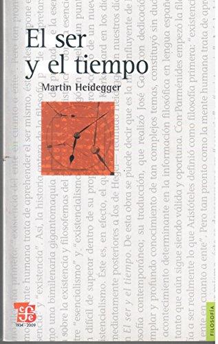 9789505577859: El Ser Y El Tiempo