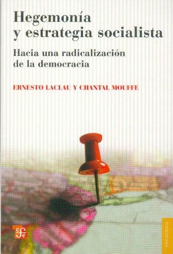9789505578368: Hegemosía y estrategia socialista