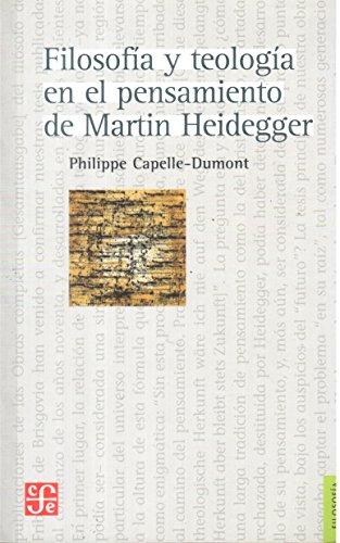 9789505579280: Filosofía y teología en el pensamiento de Martin Heidegger
