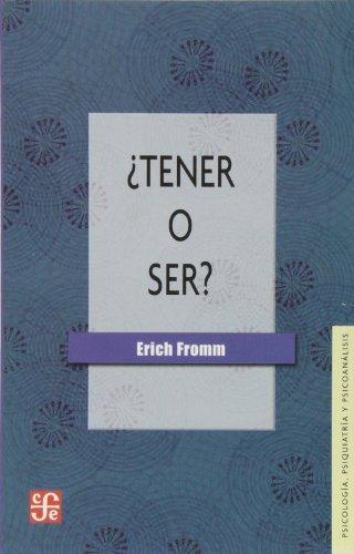 9789505579679: TENER O SER-FROMM NE