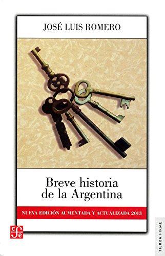 Breve Historia de la Argentina: Jose Luis Romero