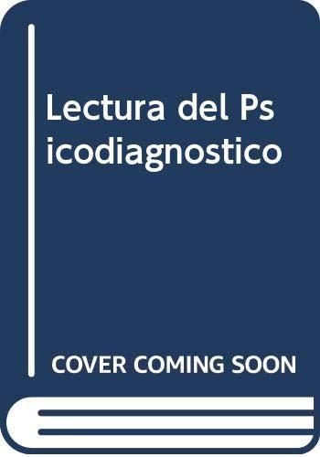 Lectura del psicodiagnóstico.-- ( Textos ): Lunazzi de Jubarry,