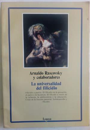Universalidad del Filicidio (Spanish Edition): Rascovsky, Arnaldo