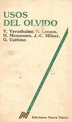 9789506021955: Usos de Olvido, Los (Spanish Edition)