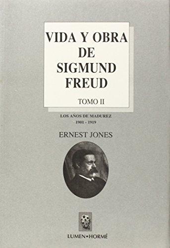 9789506180577: VIDA Y OBRA DE SIGMUND FREUD - TOMO II (Biblioteca Grandes Obras del Psicoanalisis)