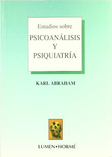 9789506180645: ESTUDIOS SOBRE PSICOANALISIS Y PSIQUIATRIA