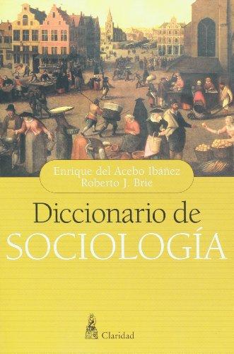9789506201746: Diccionario de sociologia (Spanish Edition)