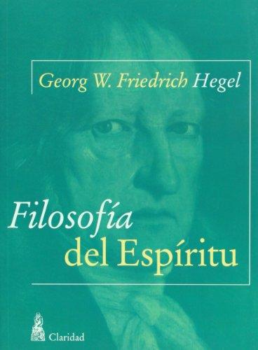 9789506201821: Filosofia del espiritu (Spanish Edition)