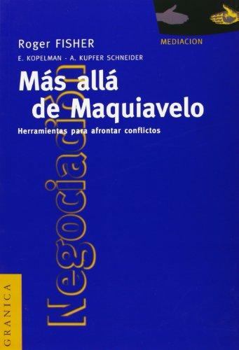 9789506411336: Mas Alla de Maquiavelo (Spanish Edition)