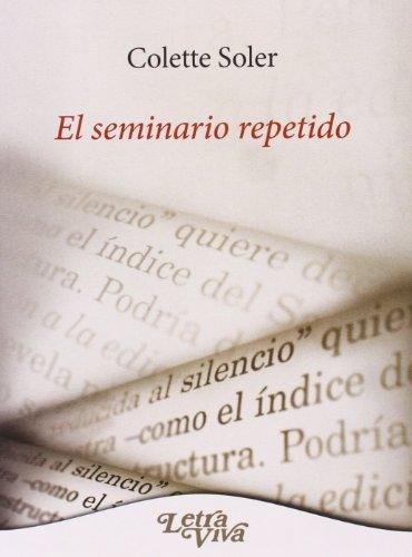SEMINARIO REPETIDO, EL: SOLER, COLETTE