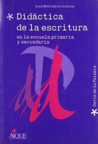 9789507011283: Didactica de La Escritura (Spanish Edition)