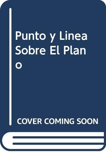 9789507220524: Punto y Linea Sobre El Plano (Spanish Edition)