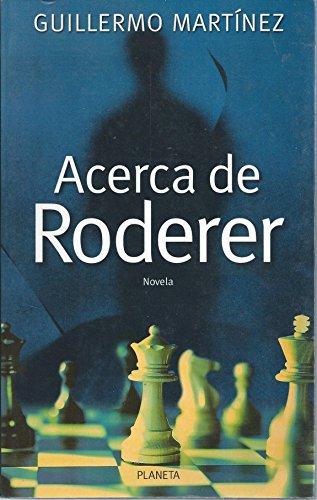 9789507426407: Acerca de Roderer (Spanish Edition)