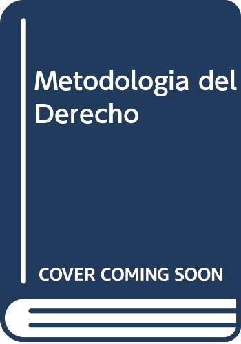Metodologia del Derecho (Spanish Edition): Carnelutti, Francesco
