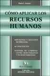 COMO APLICAR LOS RECURSOS HUMANOS: GOMEZ, PAOLA