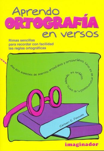 9789507685361: Aprendo Ortografia En Versos (Spanish Edition)