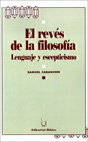 El Reves De LA Filosofia (Spanish Edition): Cabanchik, Samuel