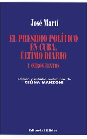 9789507860898: El Presidio Politico En Cuba (Spanish Edition)