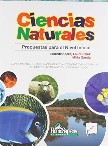 Ciencias naturales. Propuestas para el nivel inicial: PITLUK, LAURA (COORD.)