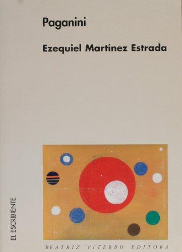 9789508451095: Paganini (El Escribiente) (English and Spanish Edition)