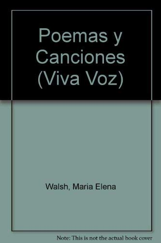 9789508520913: Poemas y Canciones (Viva Voz)